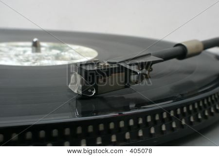 Turntable With Record