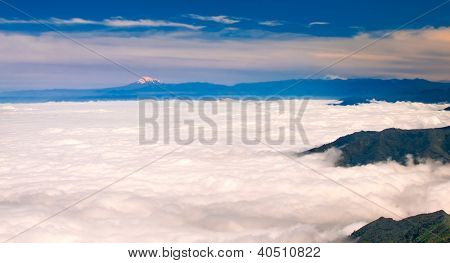 Chimborazo From El Cajas