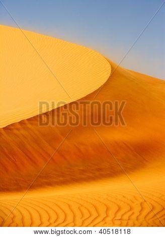 Wind on Dune