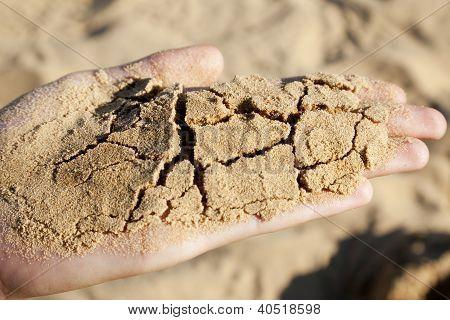 Hand And Sand