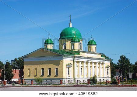 Church Of Transfiguration In Tula