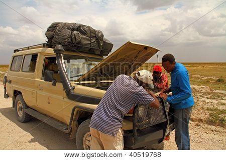 Safari Truck Breakdown