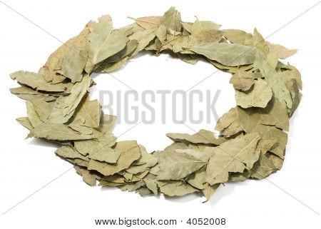 Heap Of Bay Leaves