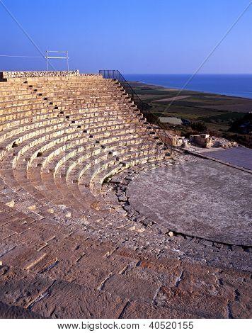 Greco-Roman theatre, Kourion, Cyprus.