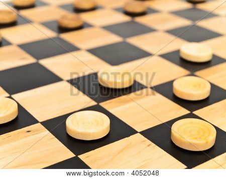 Checkers In Game