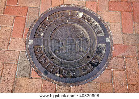Manhole In Lansing