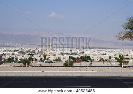 Cityscape, City Of Aqaba, Jordan
