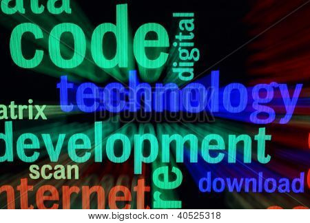 Technology Word Cloud