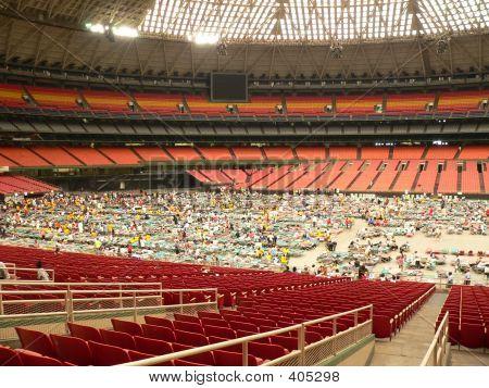 Katrina Astrodome Evacuees