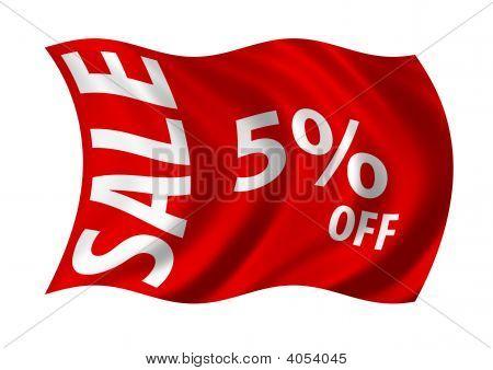 Sale 5 % Off