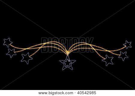 Festive Seven Star Rope Light Street Decoration