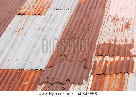 Rusty Metal Roof