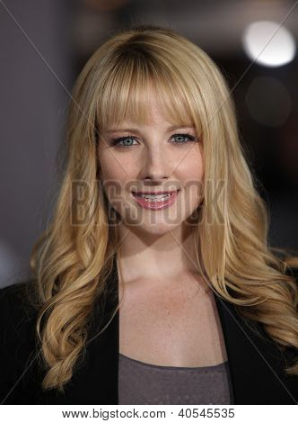 LOS ANGELES - OCT 20:  Melissa Rauch arriving to