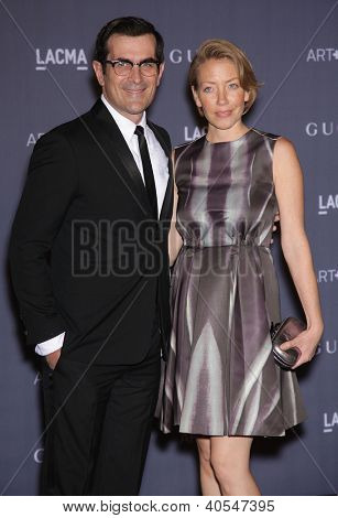 LOS ANGELES - OCT 27:  Ty Burrell arrives to the LACMA hosts 2012 Art + Film Gala  on October 27, 2012 in Los Angeles, CA