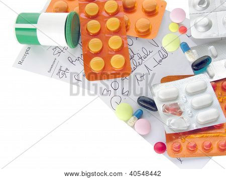 various medicines for cure