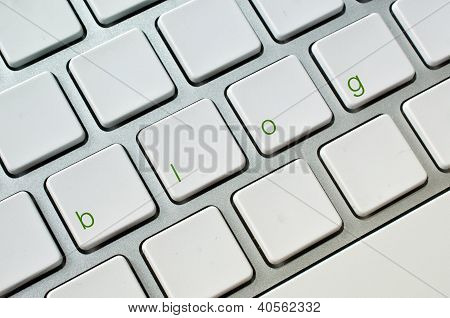 Blog Computer Keyboard