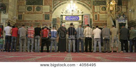 Muslim Men Praying