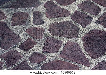 tile floor retro pattern
