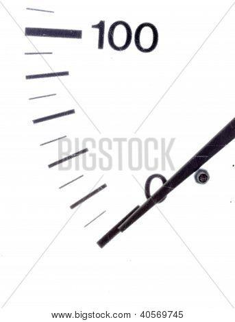 Close Up Of Meter Measuring