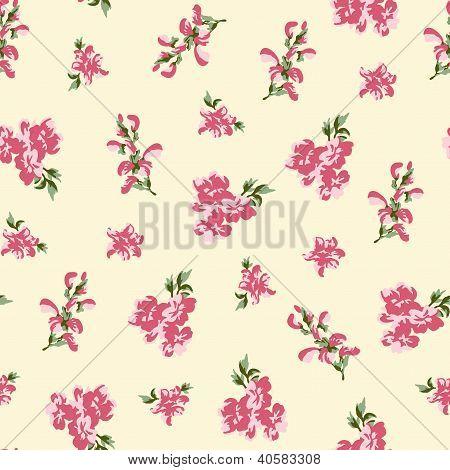 Retro Floral Seamless