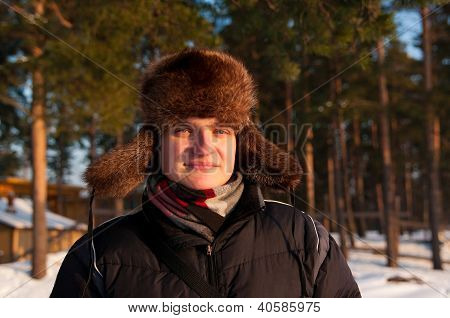 Man In The Fur Cap