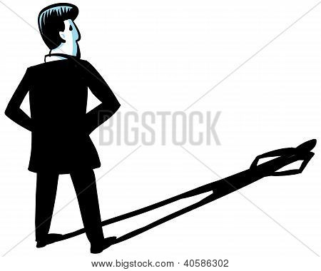 Businessman Shadow
