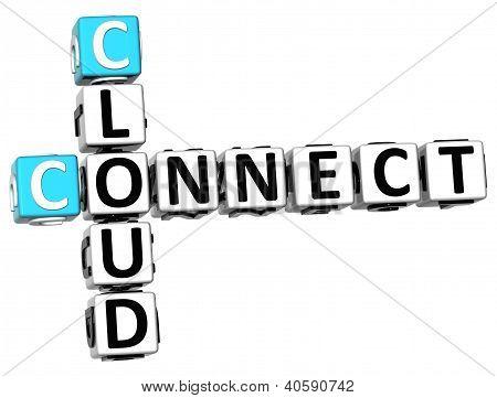 3D Cloud Connect Crossword