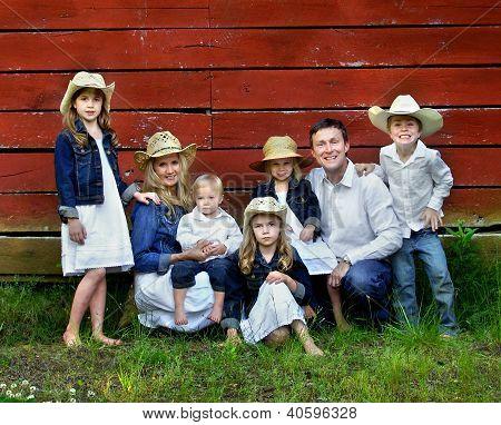 Família de sete