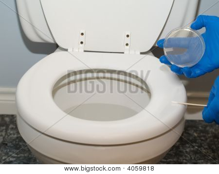 Germs On Toilet