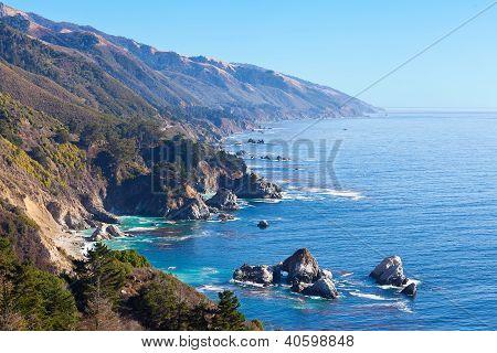 Ocean View In California