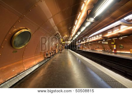 Arts Et Metiers Metro In Paris