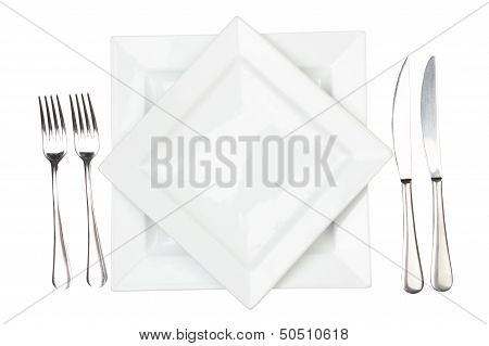 Place Setting With High-gloss Plate
