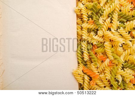 Rotini And Open Book