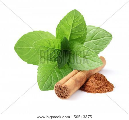 Mint with cinnamon