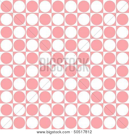 Circle and square background