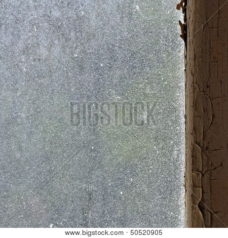 Dusty Window Glass