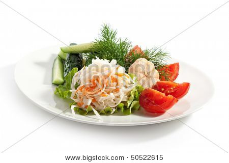 Assorti of Pickled Vegetables