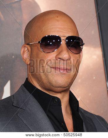 LOS ANGELES - AUG 28:  Vin Diesel arrives to