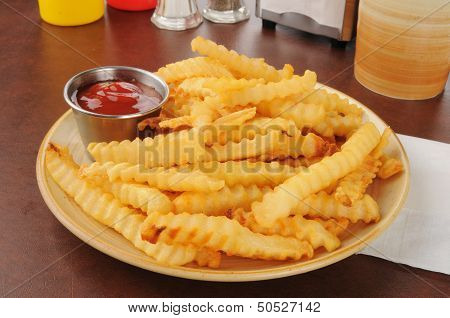 French Fries And Catsup