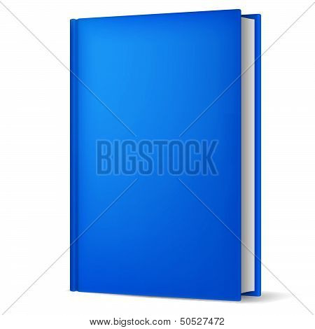 Book isolated on white.