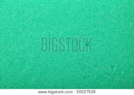 Green Texture Cellulose Foam Sponge Background