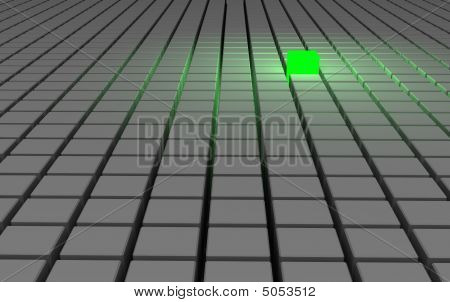 Abstract Green Concept
