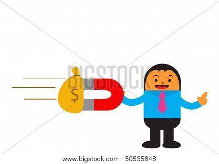 Businessman In Activity