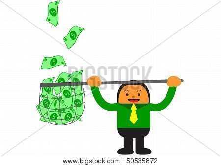 Businessman In Activity