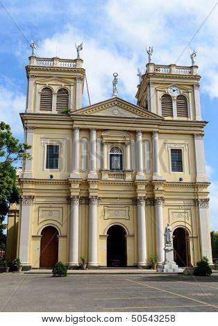 Sri Lanka. Negombo. Old Roman Catholic Cathedral