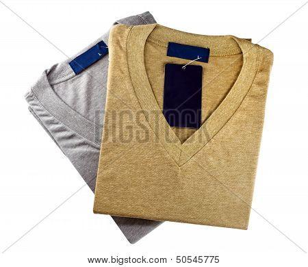 Neatly Folded Shirts