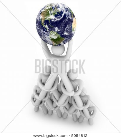 Team Pyramid Lifting The Earth