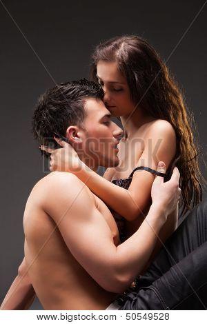 Fashion Couple, Dramatic image shot