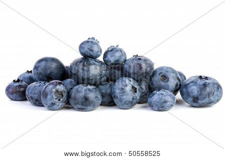 Small pile of bilberries