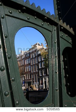 Rowhouse Through A Bridge